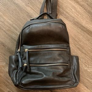 Charcoal Gray Backpack